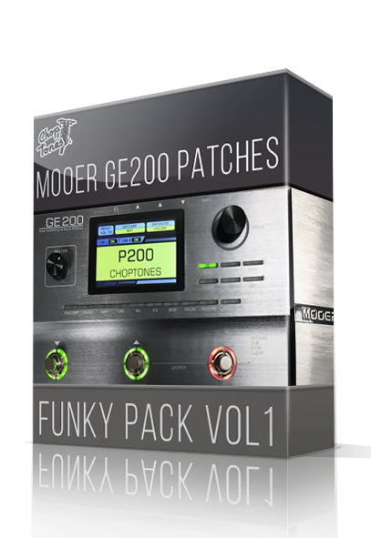 Funky Pack vol.1 for GE200 - ChopTones