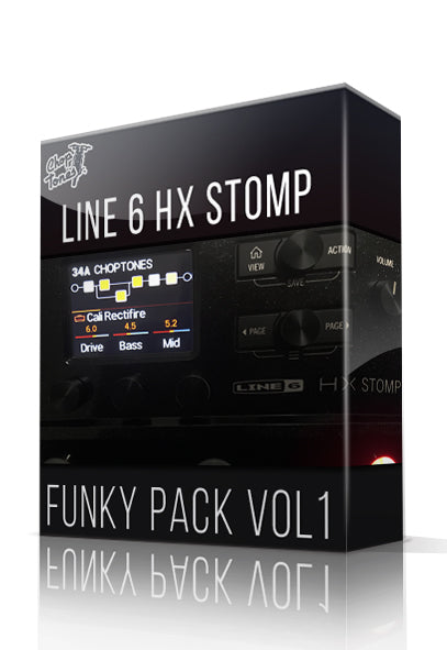 Funky Pack Vol.1 for HX Stomp - ChopTones