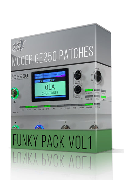 Funky Pack vol.1 for GE250 - ChopTones