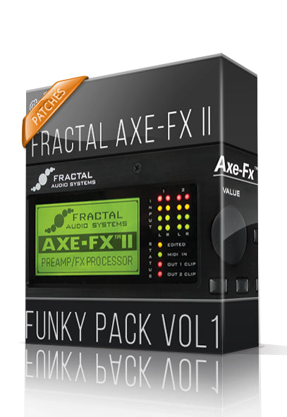 Funky Pack vol.1 for AXE-FX II