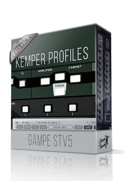 Gampe STV5 Bass Pack Kemper Profiles