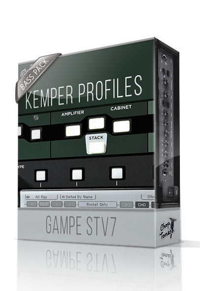 Gampe STV7 Bass Pack Kemper Profiles
