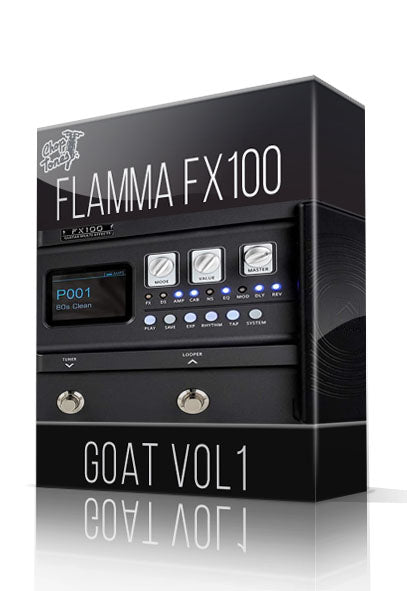 GOAT vol1 for FX100