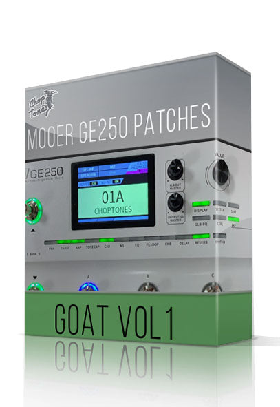 GOAT vol1 for GE250