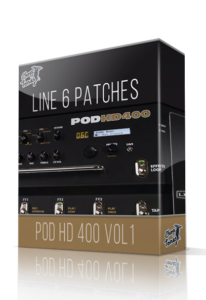 POD HD400 Vol.1 - ChopTones
