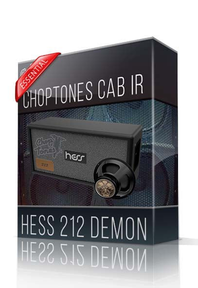 Hess 212 Demon Essential Cabinet IR - ChopTones
