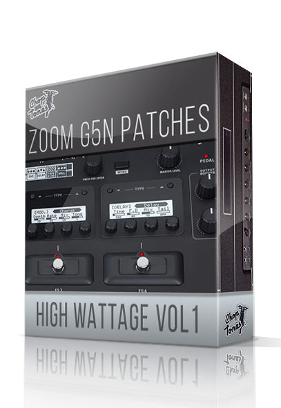 High Wattage vol.1 for G5n - ChopTones