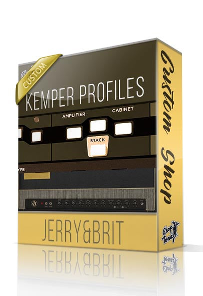 Jerry & Brit Custom Shop Kemper Profiles - ChopTones