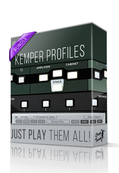 Just Play Them All! Kemper Profiles Bundle - ChopTones