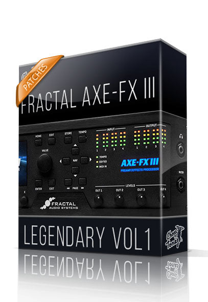 Legendary vol.1 for AXE-FX III - ChopTones