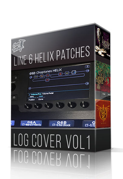 LOG Cover vol.1 for Line 6 Helix
