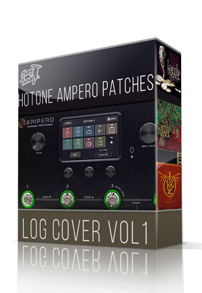 LOG Cover vol.1 for Hotone Ampero