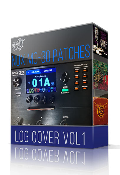 LOG Cover vol.1 for MG-30