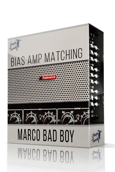 Marco Bad Boy Bias Amp Matching - ChopTones