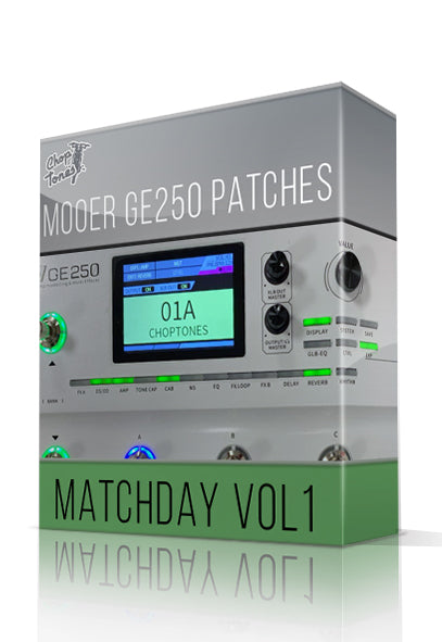 Matchday vol.1 for GE250 - ChopTones