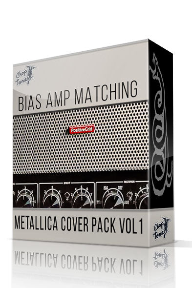 Metallica Cover Vol.1 Bias Amp Matching Pack