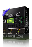 Metallica Cover Pack vol.1 for AX8 - ChopTones