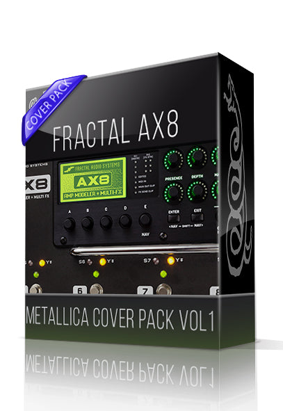 Metallica Cover Pack vol.1 for AX8