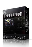 Metallica Cover Pack Vol.1 for HX Stomp - ChopTones