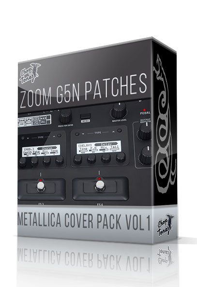 Metallica Cover Pack vol.1 for G5n - ChopTones