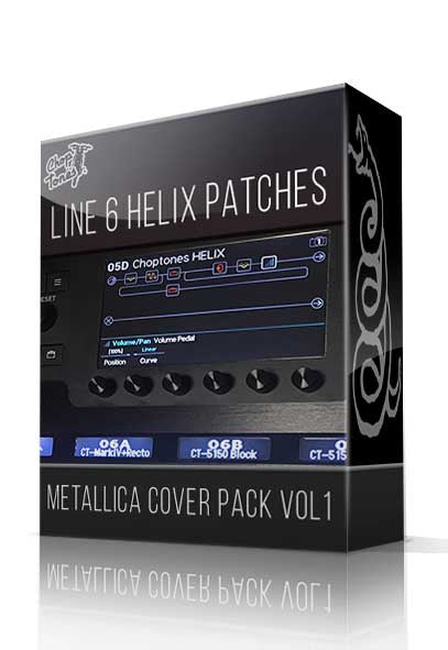 Metallica Cover Pack Vol.1 for Line 6 Helix - ChopTones
