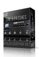 Metallica Cover Pack Vol.1 for POD HD Series