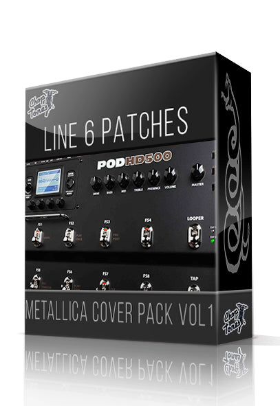 Metallica Cover Pack Vol.1 for POD HD Series - ChopTones