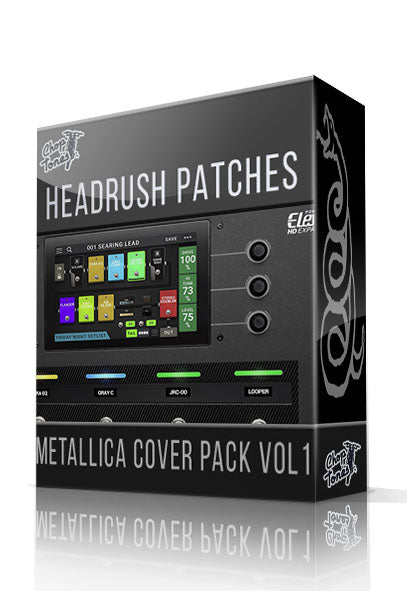 Metallica Cover Pack vol.1 for Headrush