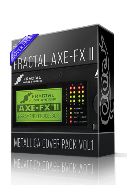 Metallica Cover Pack vol.1 for AXE-FX II - ChopTones