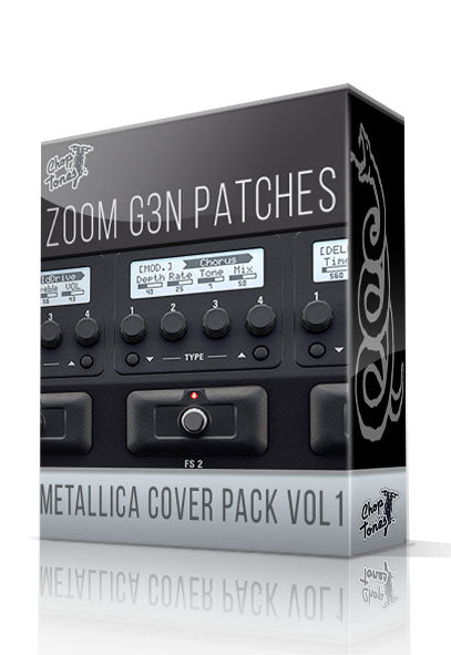 Metallica Cover Pack vol.1 for G3n/G3Xn - ChopTones