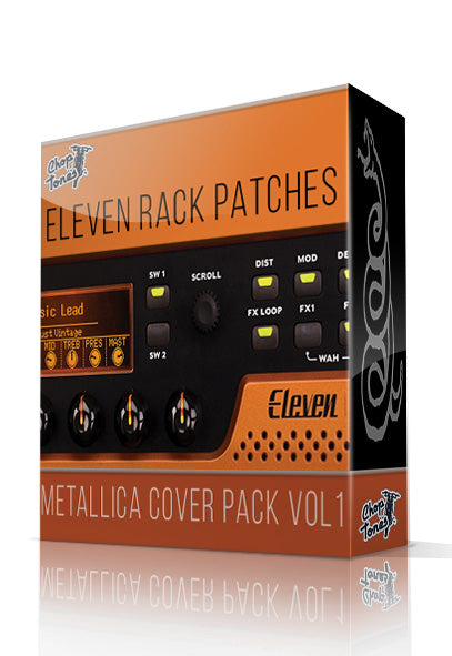 Metallica Cover Pack Vol.1 for Eleven Rack - ChopTones