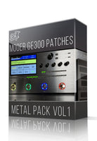 Metal Pack vol.1 for GE300 - ChopTones