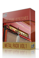 Metal Pack Vol.1 for Amplitube 4 - ChopTones