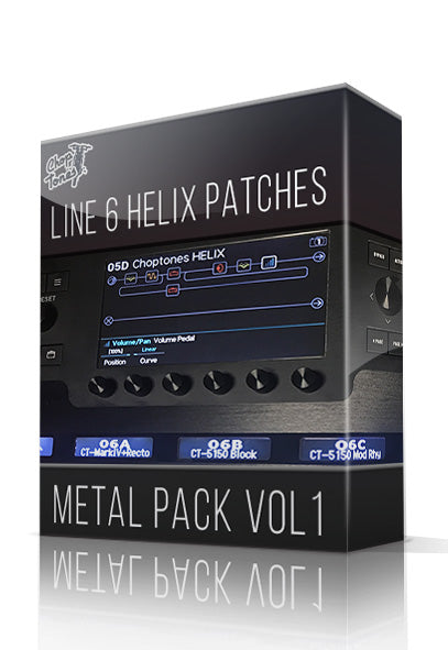 Metal Pack Vol.1 for Line 6 Helix - ChopTones