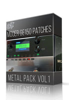 Metal Pack vol.1 for GE150 - ChopTones