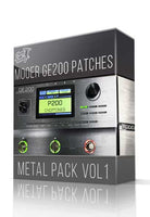 Metal Pack vol.1 for GE200 - ChopTones