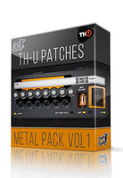 Metal Pack vol.1 for Overloud TH-U - ChopTones