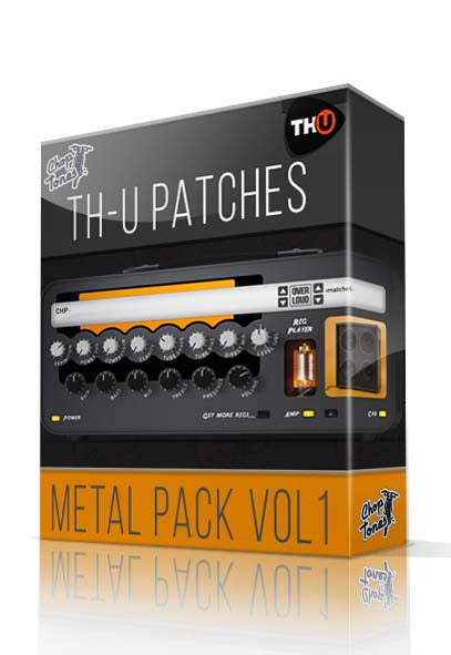 Metal Pack vol.1 for Overloud TH-U