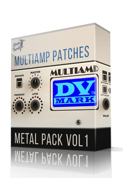 Metal Pack Vol.1 for DV Mark Multiamp - ChopTones