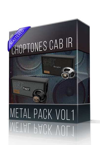 Metal Pack vol.1 Cabinet IR - ChopTones
