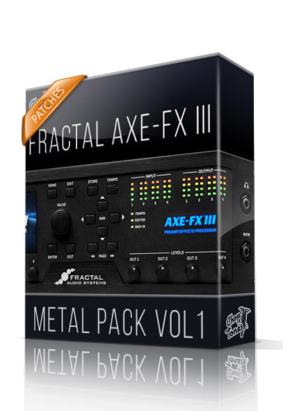 Metal Pack vol.1 for AXE-FX III - ChopTones