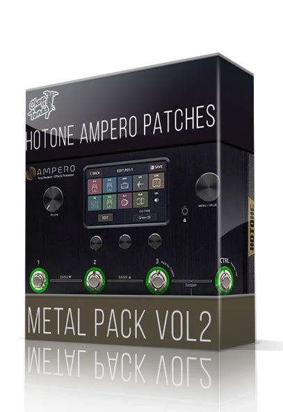 Metal Pack vol.2 for Hotone Ampero - ChopTones