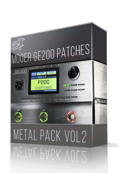 Metal Pack vol.2 for GE200 - ChopTones