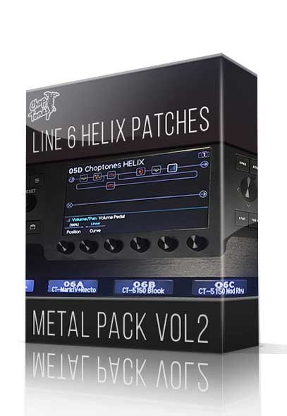 Metal Pack Vol.2 for Line 6 Helix - ChopTones