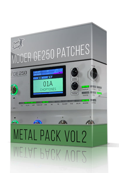 Metal Pack vol.2 for GE250 - ChopTones