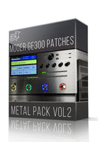 Metal Pack vol.2 for GE300 - ChopTones