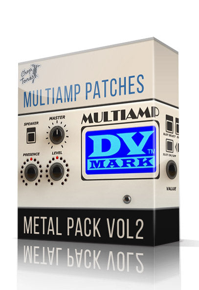 Metal Pack Vol.2 for DV Mark Multiamp - ChopTones