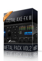 Metal Pack vol.2 for AXE-FX III - ChopTones