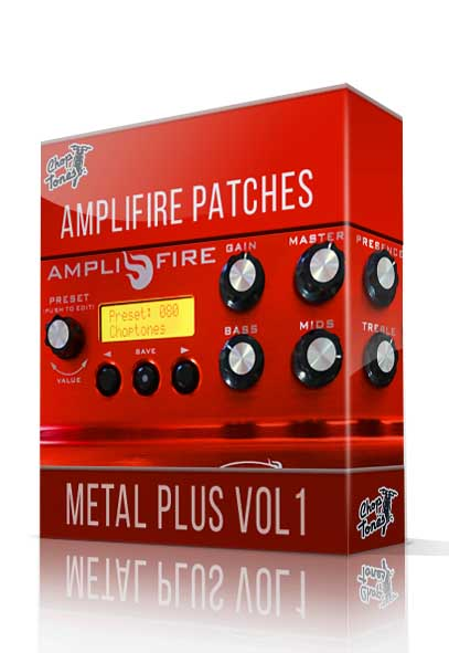 Metal Plus vol.1 for Atomic Amplifire - ChopTones