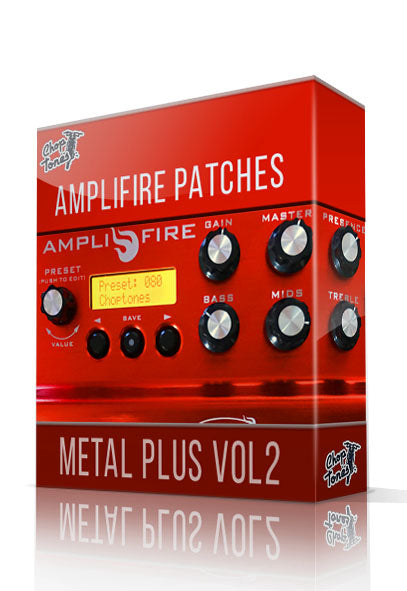 Metal Plus vol.2 for Atomic Amplifire - ChopTones